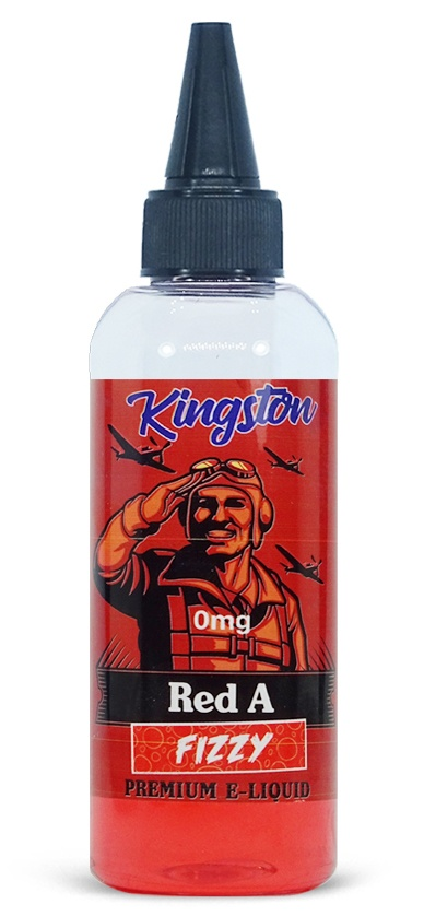 Red A Fizzy Kingston e-liquid 80ml