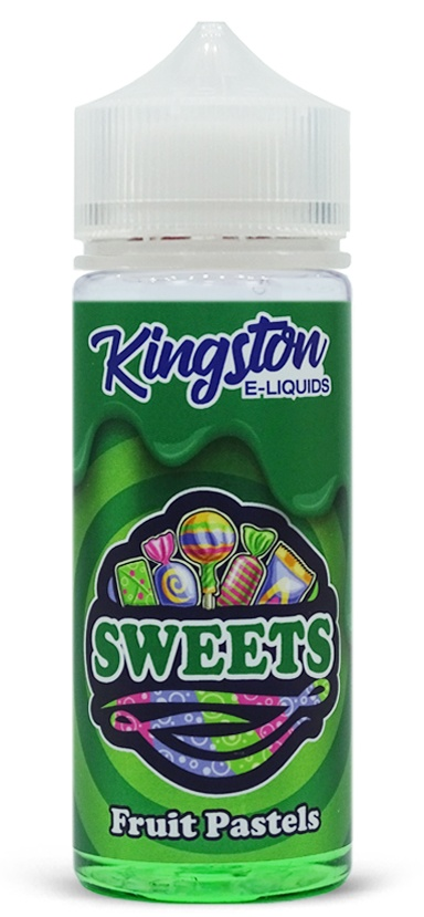 Sweets Fruit Pastels Kingston e-liquid 120ml