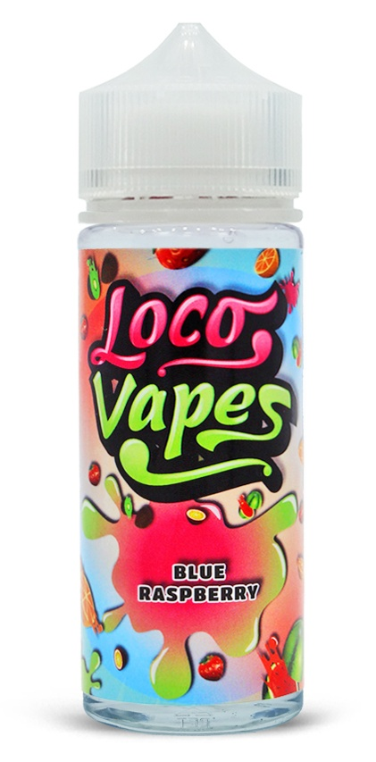 Blue Raspberry Loco Vapes 100ml