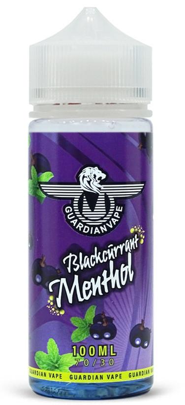 Blackcurrant Menthol Guardian Vape e-liquid 100mI