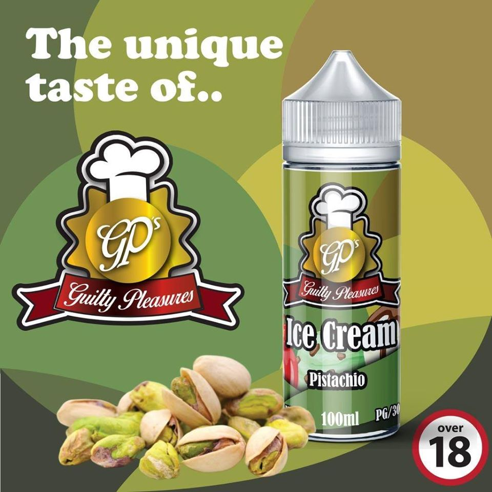 Pistachio Guilty Pleasures e-liquid
