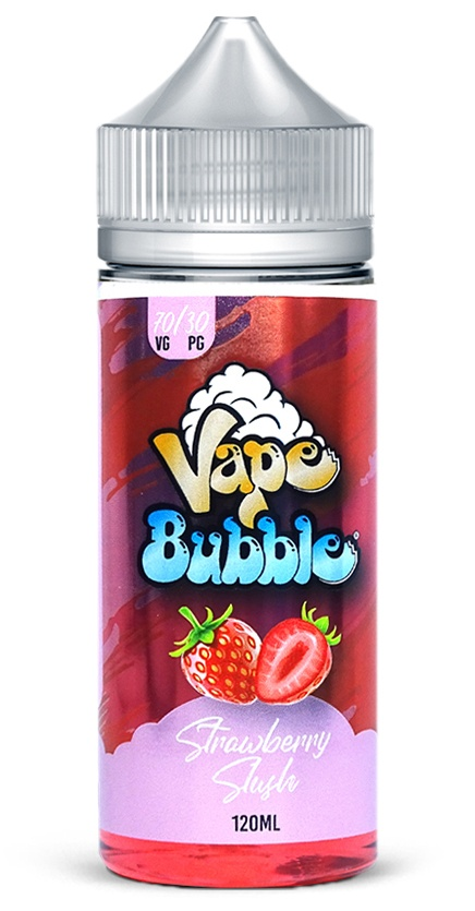 Strawberry Slush Vape Bubble e-liquid 120ml