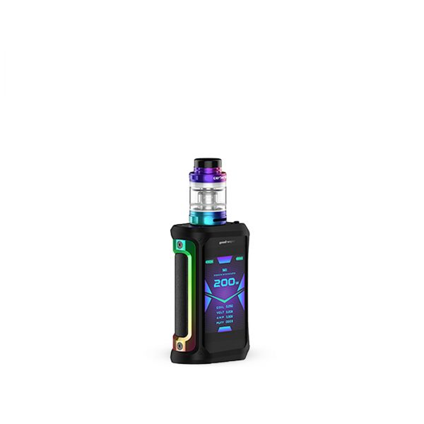 GeekVape Aegis X Kit 200W-Rainbow & Black