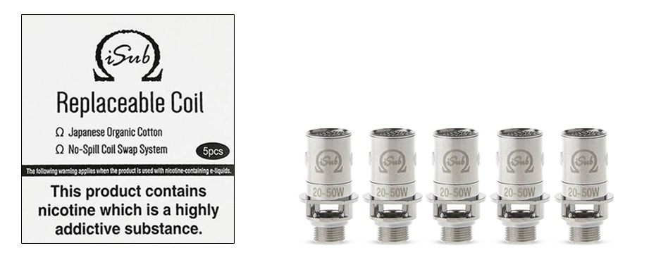 Innokin iSub Replacement Coils 0.2 ohm-1