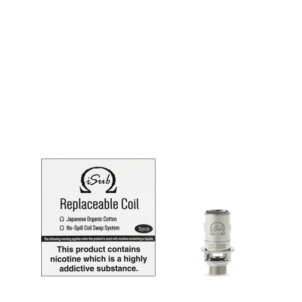 Innokin iSub Replacement Coils 0.2 ohm