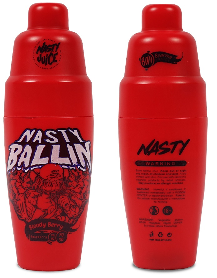 Nasty Ballin-Bloody Berry 50ml