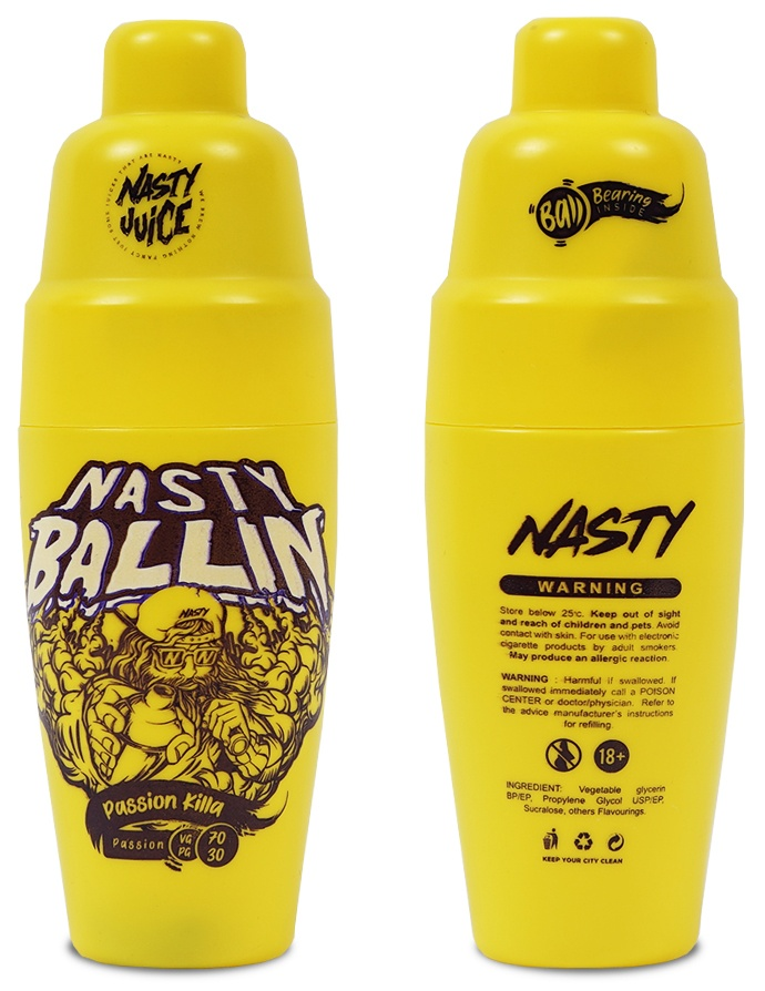 Nasty Ballin- Passion Killa 50ml