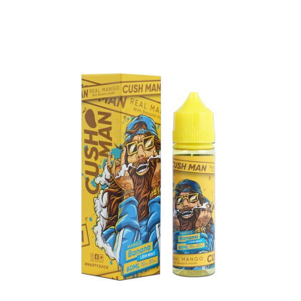 Nasty Cushman-Mango Banana 50ml