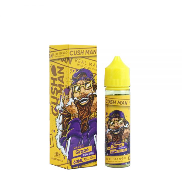 Nasty Cushman-Mango Grape 50ml