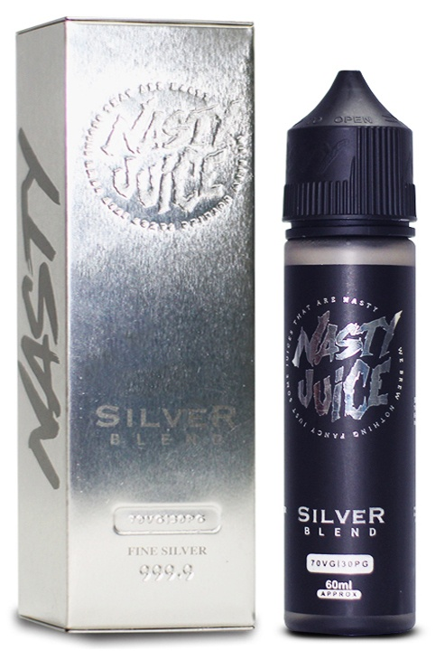 Nasty Juice-Tobacco-Silver Blend 50ml