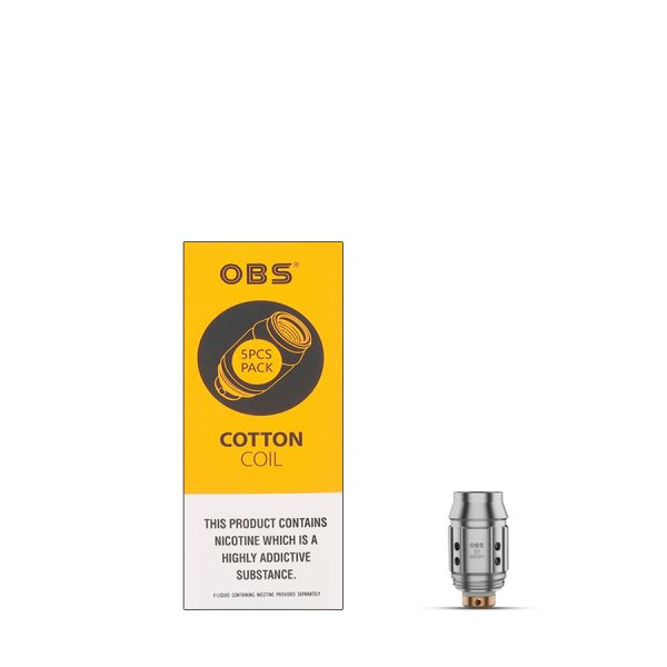 OBS Cotton S1 Mesh Coil 0.6 ohm