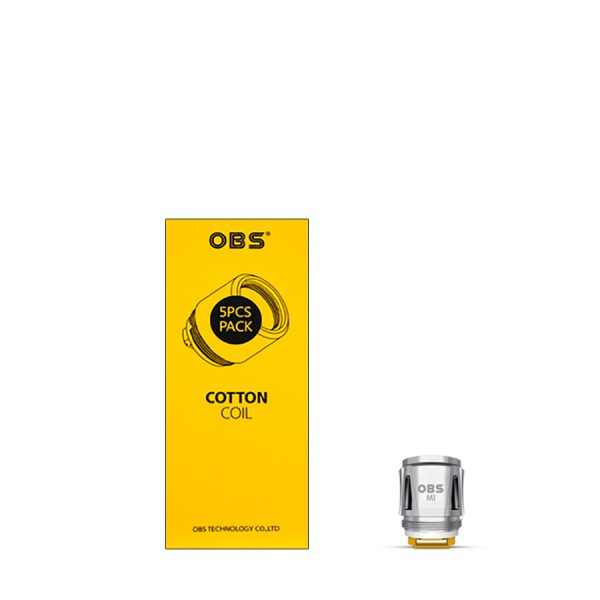 OBS Cotton M1 Mesh Coil 0.2 ohm
