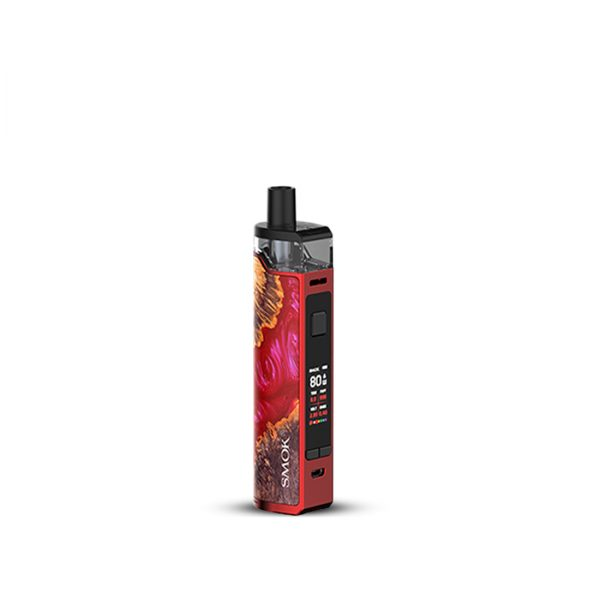 Smok RPM80 80W-Red Stabilizing Wood