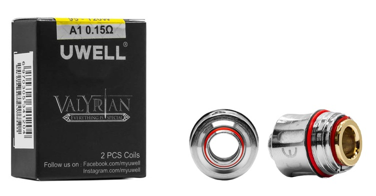 Uwell Valyrian A1 Coils 0.15 ohm