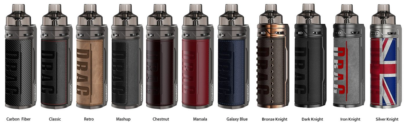 Voopoo-Drag-S-kit-All-Colours