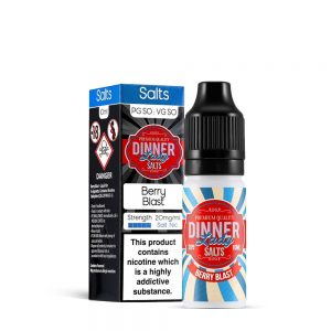 Berry Blast-Nic Salt-Dinner Lady 10ml
