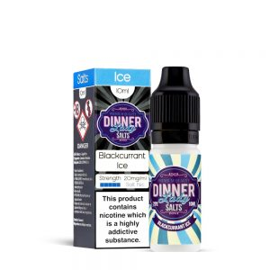 Blackcurrant Ice-Nic Salt-Dinner Lady 10ml