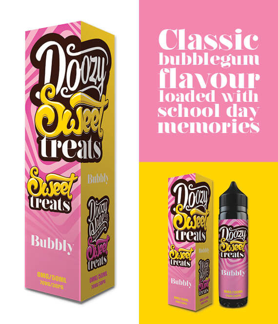 Bubbly-Sweet Treats Doozy Vape Co 50ml