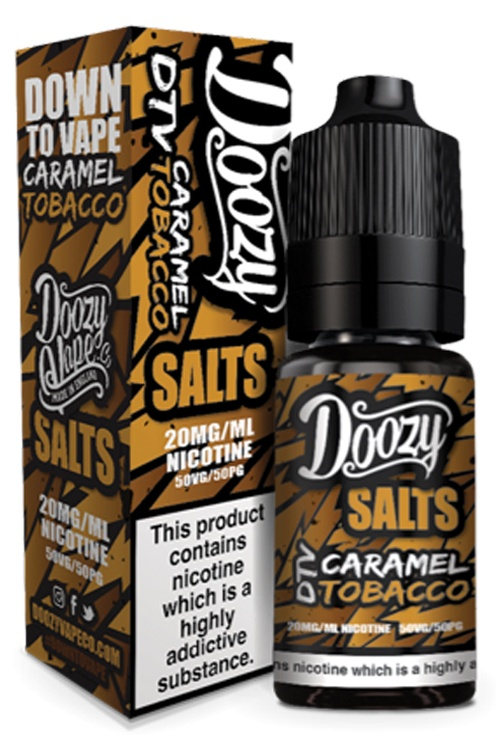 Caramel Tobacco-Doozy Salts 10ml