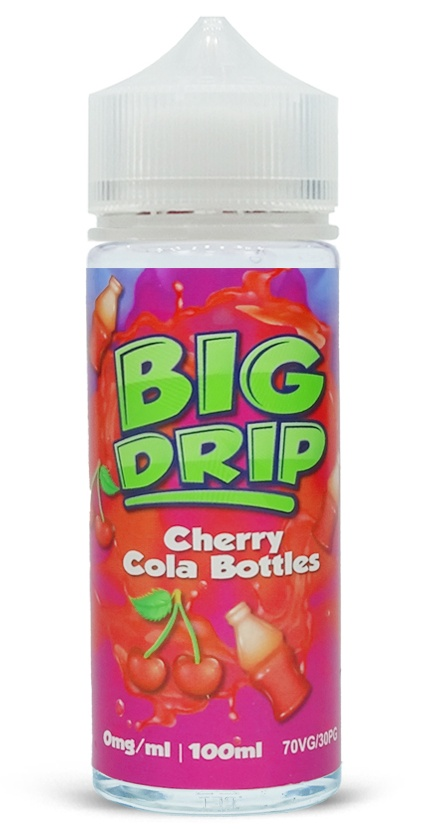 Cherry Cola Bottles-Big Drip 100ml