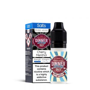 Cherry Menthol-Nic Salt-Dinner Lady 10ml