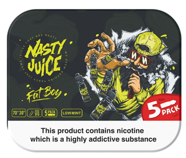 Fat Boy-Nasty Juice TPD Multipacks