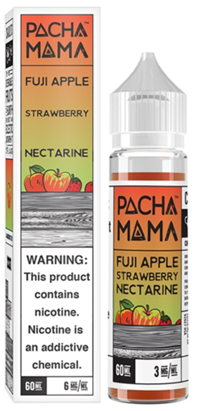 Fuji Apple, Strawberry Nectarine-Pacha Mama 50ml