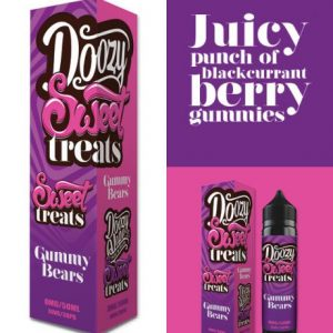 Gummy Bears-Sweet Treats Doozy Vape Co 50ml