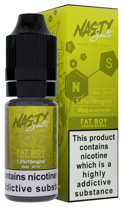 Nasty Salt Fat Boy-Salt 10ml