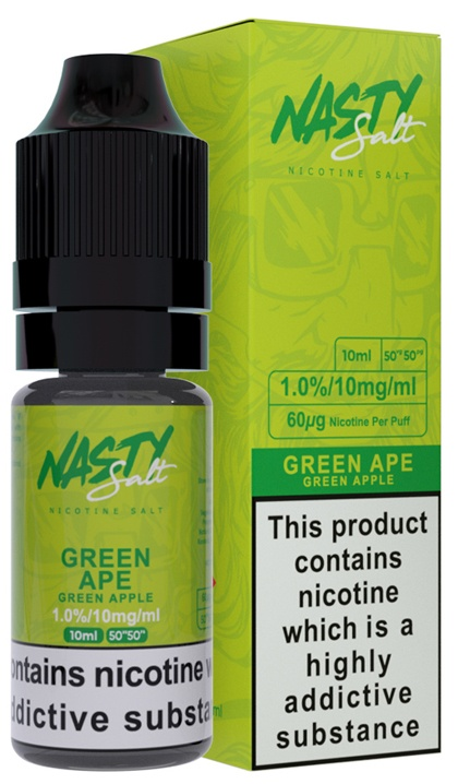 Nasty Salt Green Ape-Salt 10ml