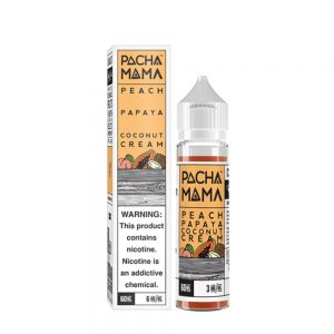 Peach, Papaya and Coconut Cream-Pacha Mama 50ml