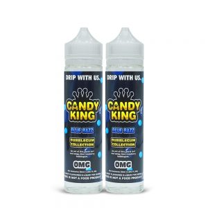 Candy King-Blue Razz Bubblegum Collection 2 x 50ml