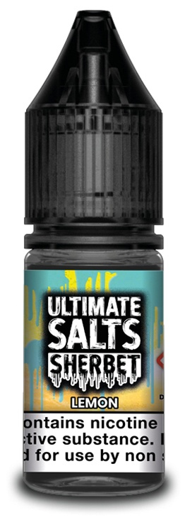 Lemon-Ultimate Salts Sherbet