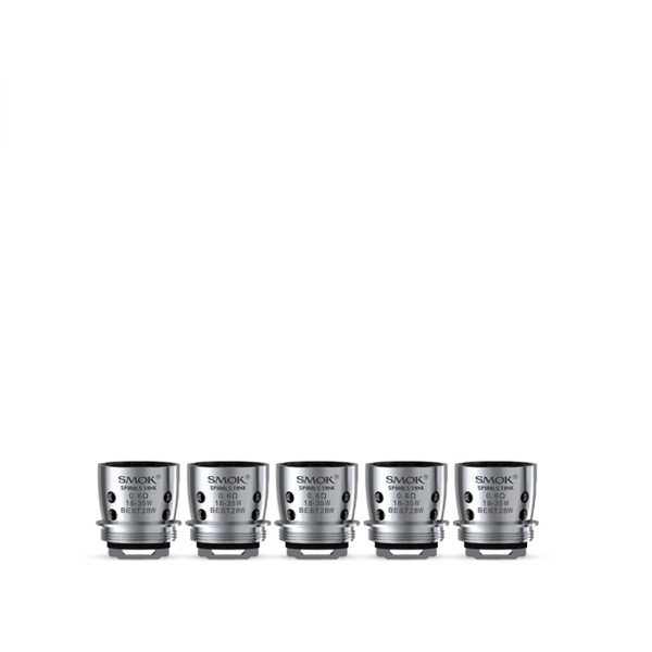 Smok Spirals Tank Dual Core Coil 0.6 ohm-Pack Of 5