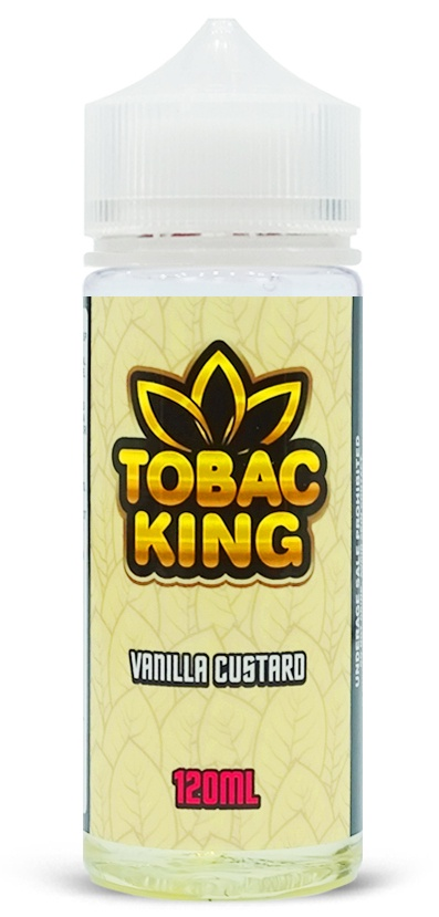 Tobac King-Vanilla Custard 120ml