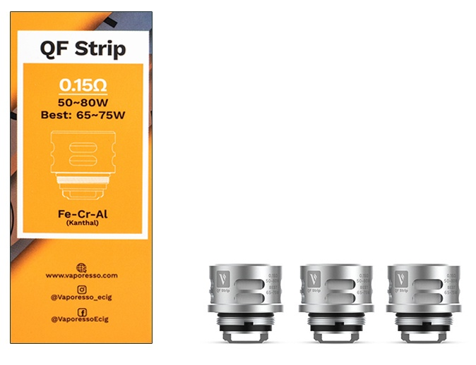 Vaporesso QF Strip Replacement Coil 0.15 ohm