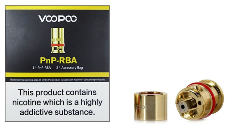 Voopoo PNP-RBA Coil 0.6 ohm