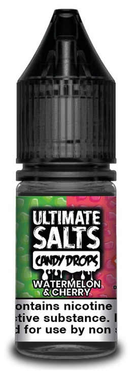 Watermelon Cherry-Ultimate Salts Candy Drops