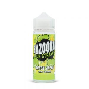 Bazooka-Green Sour Apple Straws 100ml