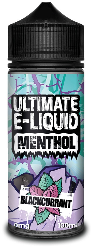Blackcurrant-Menthol E-liquid 100ml