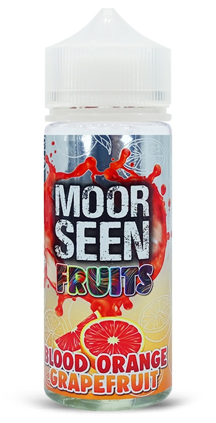 Blood Orange Grapefruit-Fruits-Moor Seen-120ml