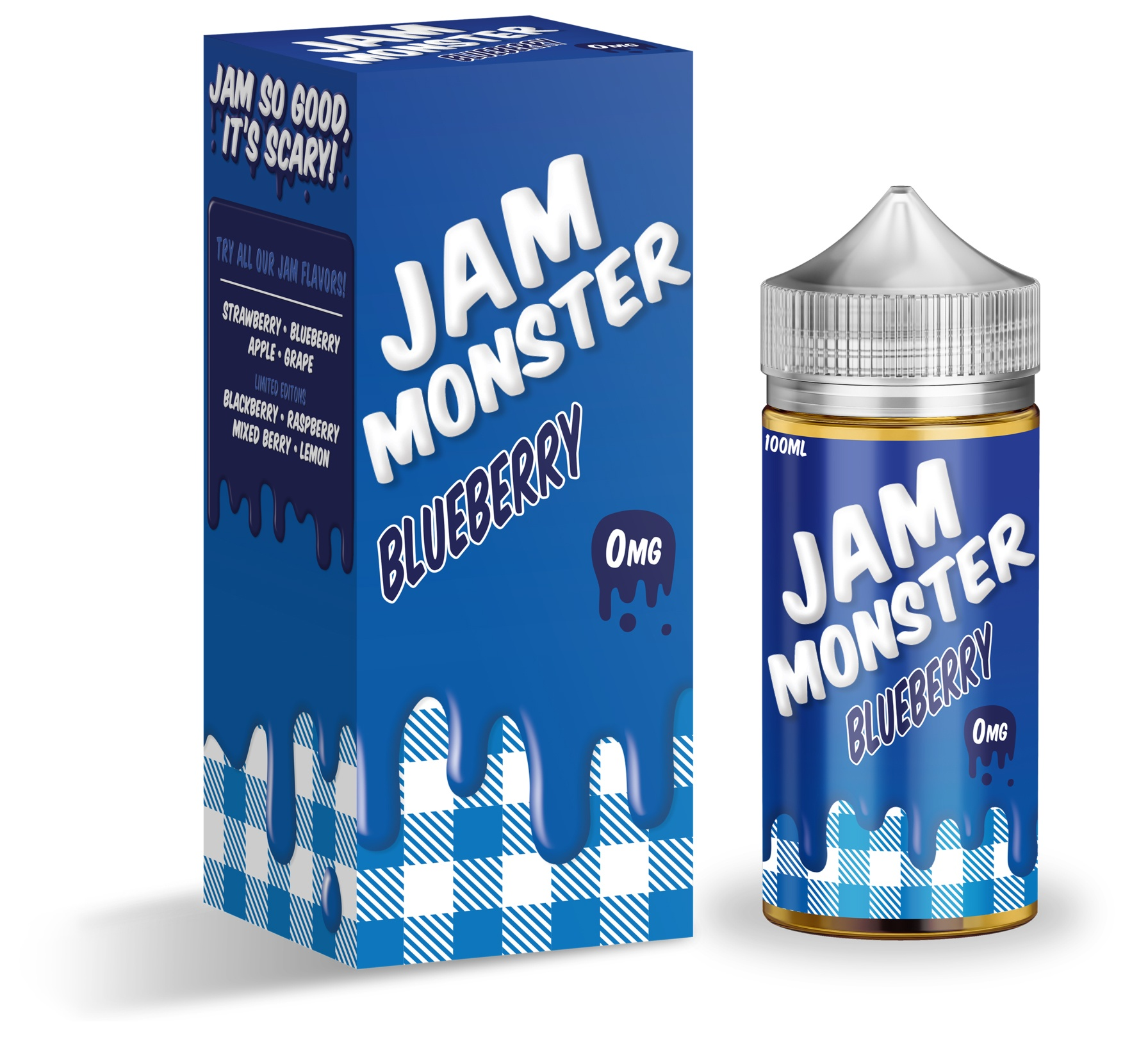 Jam Monster-Blueberry 100ml-1
