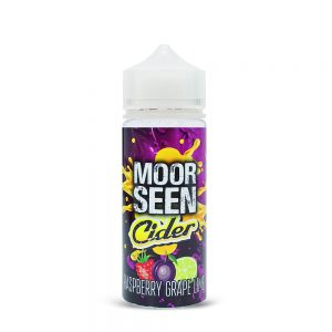 Raspberry Grape Lime-Cider-Moor Seen-120ml