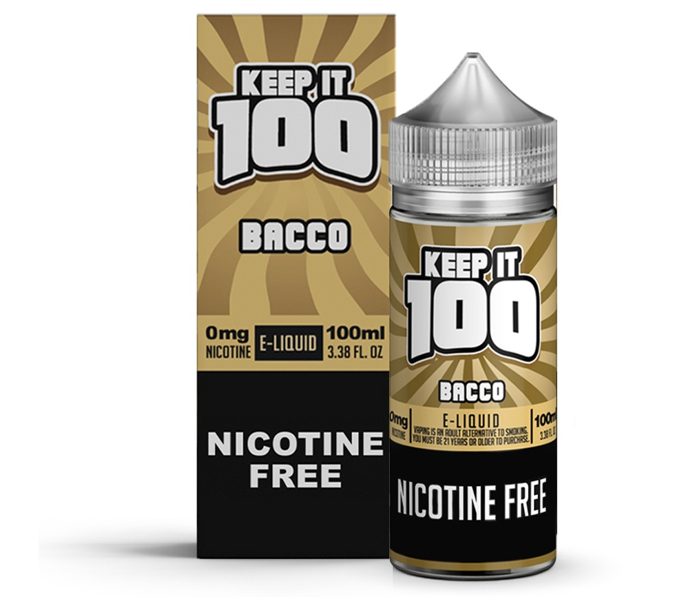 Keep It 100-Bacco 100ml