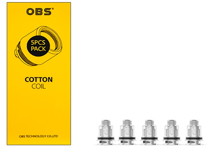 OBS COTTON OM YE 0.4ohm-main
