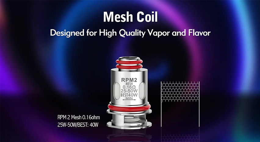 SMOK RPM 2 Replacement Coils-features