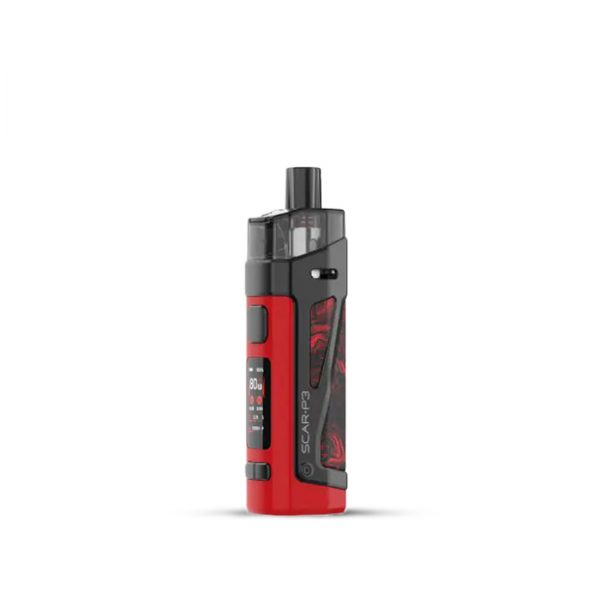 Smok-SCAR-P3-Pod-Kit-Fluid-Red