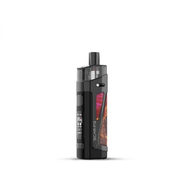 Smok-SCAR-P3-Pod-Kit-Red-Stabilizing-Wood