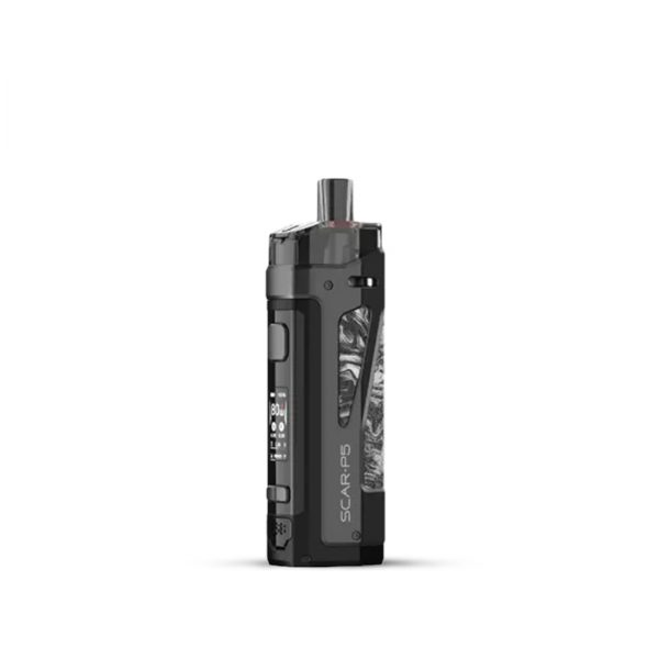 Smok-SCAR-P5-Pod-Kit-Fluid-Black-White