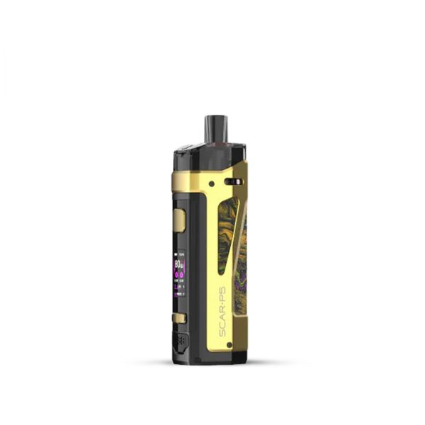Smok-SCAR-P5-Pod-Kit-Fluid-Gold